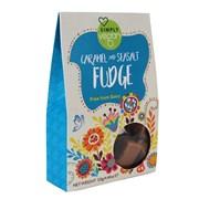 Simply Vegan Caramel & Sea Salt Fudge Gift Pk 125g (Y866)