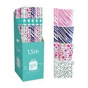 Giftmaker Male/female Foil Gift Wrap 1.5mt (YAKGW20M)