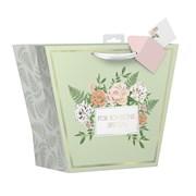 Painted Floral Gift Bag Large (YAKGB41L)