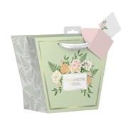Painted Floral Gift Bag Medium (YAKGB41M)