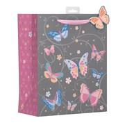 Butterfly Swirls Gift Bag Large (YAKGB51L)