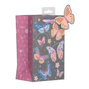 Butterfly Swirls Gift Bag P/fume (YAKGB51P)