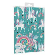 Giftmaker Unicorn 2 Sheets & Tags Gift Wrap (YAKGS20A)