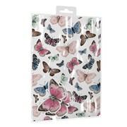 Giftmaker Butterflies 2 Sheets & Tags Gift Wrap (YAKGS20C)