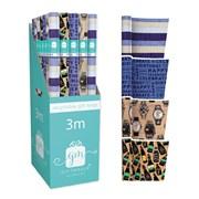 Giftmaker Male Mix Gift Wrap 3mt (YAKGW20C)