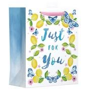 Butterfly Lemons Gift Bag Large (YALGB05L)