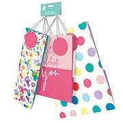 Female Pack Of 3 Gift Bags (YALGB66BP)