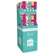 Giftmaker Brights Mix Gift Wrap 3mt (YAlGW20F)