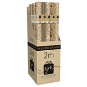Giftmaker Fashion Kraft Gift Wrap 2mt (YALGW20G)
