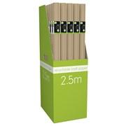 Giftmaker Kraft Roll Wrap 2.5mt (YAlGW20L)