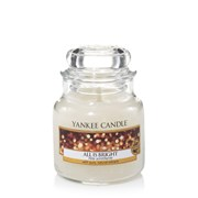 Yankee Candle Yankee  Candle Jar All Is Bright Small (1513535E)