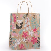 Eco Rainforest Floral Gift Bag Medium (YECOB100)