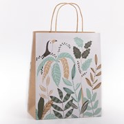 Eco Toucan Floral Gift Bag Medium (YECOB104)