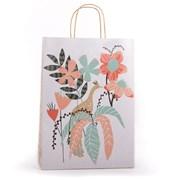 Eco Peacock Foliage Gift Bag Large (YECOB105)
