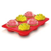 Zeal Silicone Deep Cupcake Mould Pink (NB45PACK)