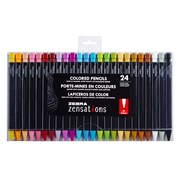 Zebra Zensations Colouring Pencils (02579)
