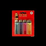 Zig-zag 4 Pack Disposable Flint Lighters (ZIGDISP-4PK)
