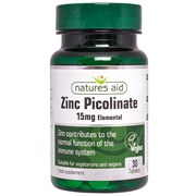 Natures Aid Zinc Picolinate 30s (17610)