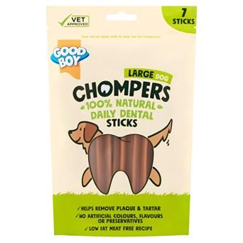 Goodboy Chompers Large Dental Sticks 150mm 7pk 265g (05202)