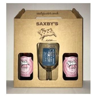 Saxby's Saxbys Rhubarb Cider Gift Set