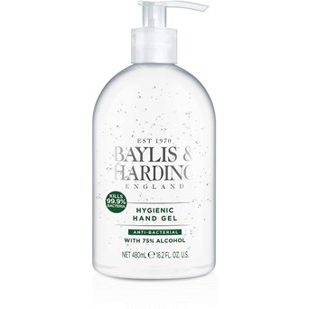 Baylis & Harding Un-fragranced Hand Gel 480ml (BHAB480HG)