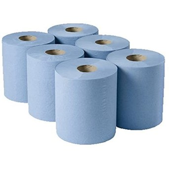 Centre Feed Blue Roll 150m (ACCFB135)