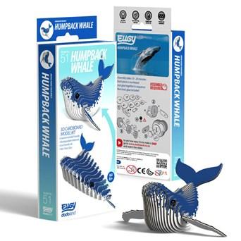 Eugy Humpback Whale 3d Craft Set (D5019)