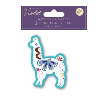Design By Violet Mexicana Party Gift Tags 2 Pack (DBVED-5-GT)
