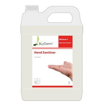 Bioderm S Alcohol Sanitiser Rub 5ltr (A63.410)