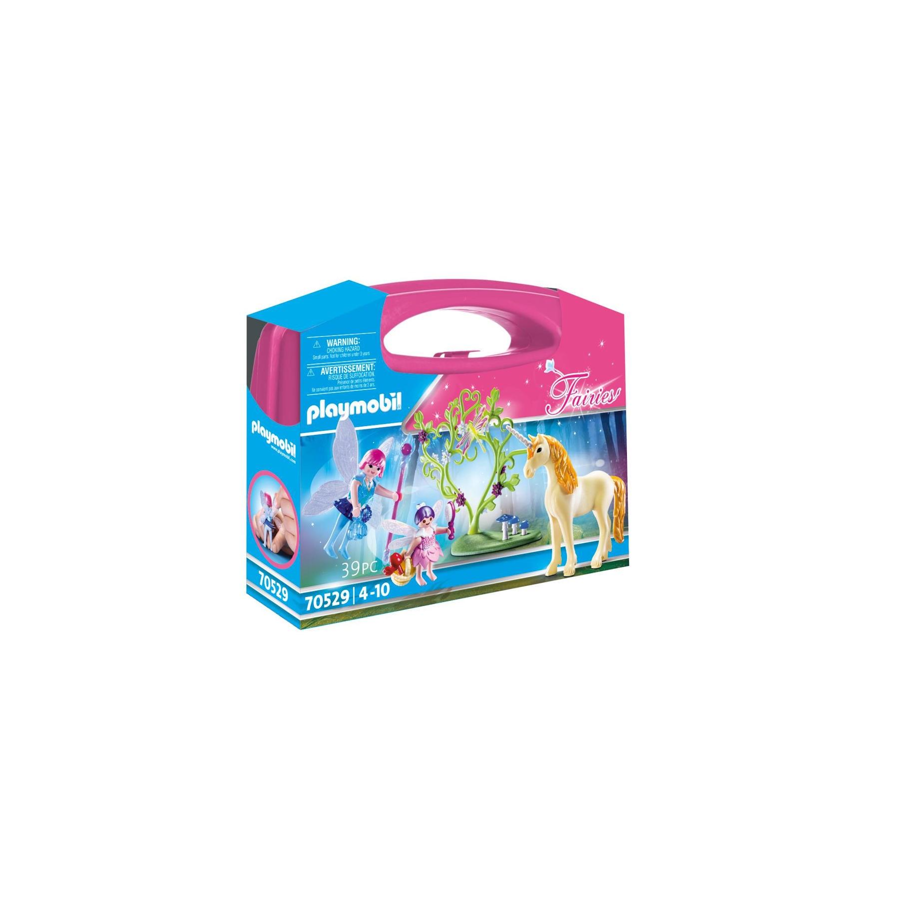playmobil fairy unicorn carry case 70529