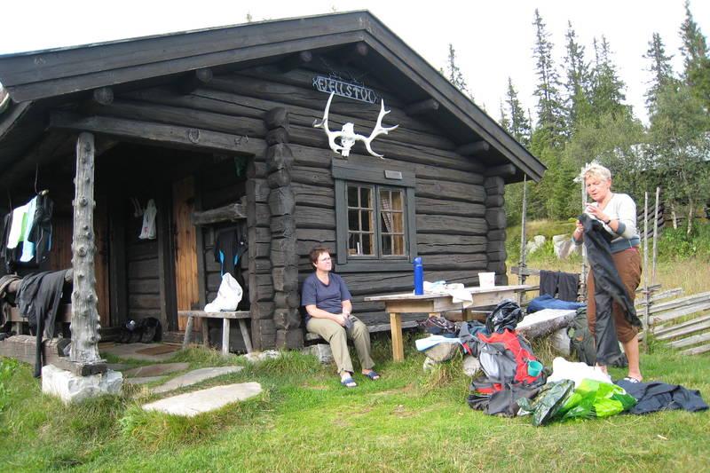 Ankomst til Øvre Fjellstul