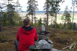 Utsyn fra Fjøseråsen