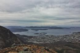 Utsikt over Jørpeland mot Stavanger -  Foto: Marvin Solheim