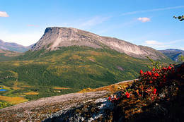 Kråkmotinden sett fra sør - Foto: Kjell Fredriksen