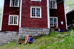 Pause ved Vetti - Foto: Kjersti Magnussen