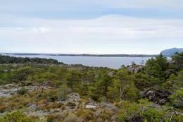 Utsikt mot skjærgården utenfor Tustna - Foto: Harald Atle Oppedal