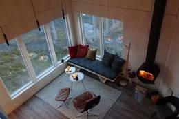 Maistua sett fra den svevende hemsen - Foto: Jørn Arild Thorvaldsen