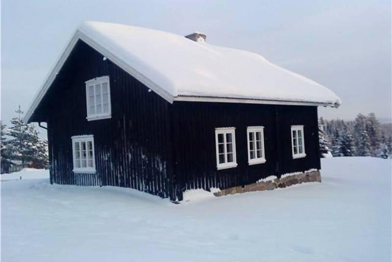 Vinter ved Sagvollen