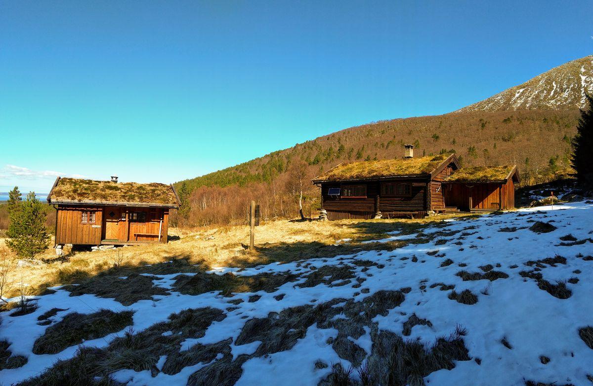 Vinter trenger ikke bety mye snø på Gullsteinvollen