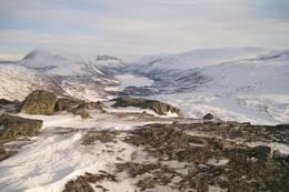 Fin utsikt fra toppen. -  Foto: Oddveig Torve
