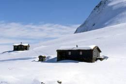 Vinter ved Fivla - Foto: Luster Turlag