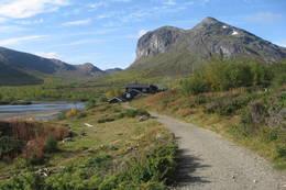 Gjendebu i Jotunheimen i september  - Foto: Thorleif Lantz