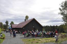 Ny aktivitetslåve ble åpnet i oktober 2015. - Foto: Kari Merete Horne