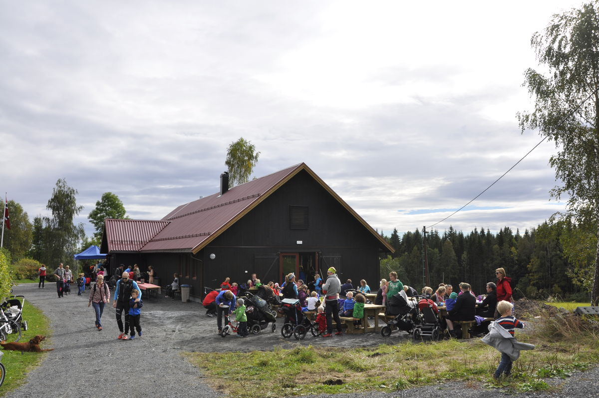 Ny aktivitetslåve ble åpnet i oktober 2015.