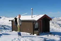 Vasstindbu 1200 moh. -  Foto: Molde og Romsdals Turistforening