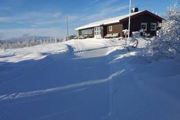 Stenfjellhytta i november 2016 - Foto: Stein Arne Negård