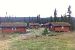 Åkersætra - et idyllisk leirsted i Åstdalen -  Foto: Margrete Ruud Skjeseth, HHT
