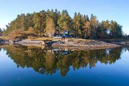 Kystledhytta på Kjeholmen -  Foto: Oslofjordens Friluftsråd