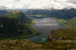 Utsikt frå kleivafjellet - Foto: Anne Cecilie Kapstad