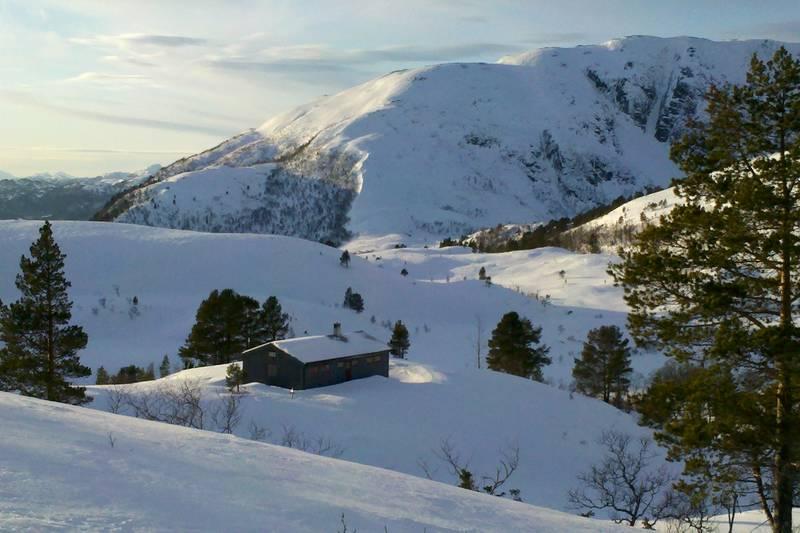 Vinterland ved Jutulbu